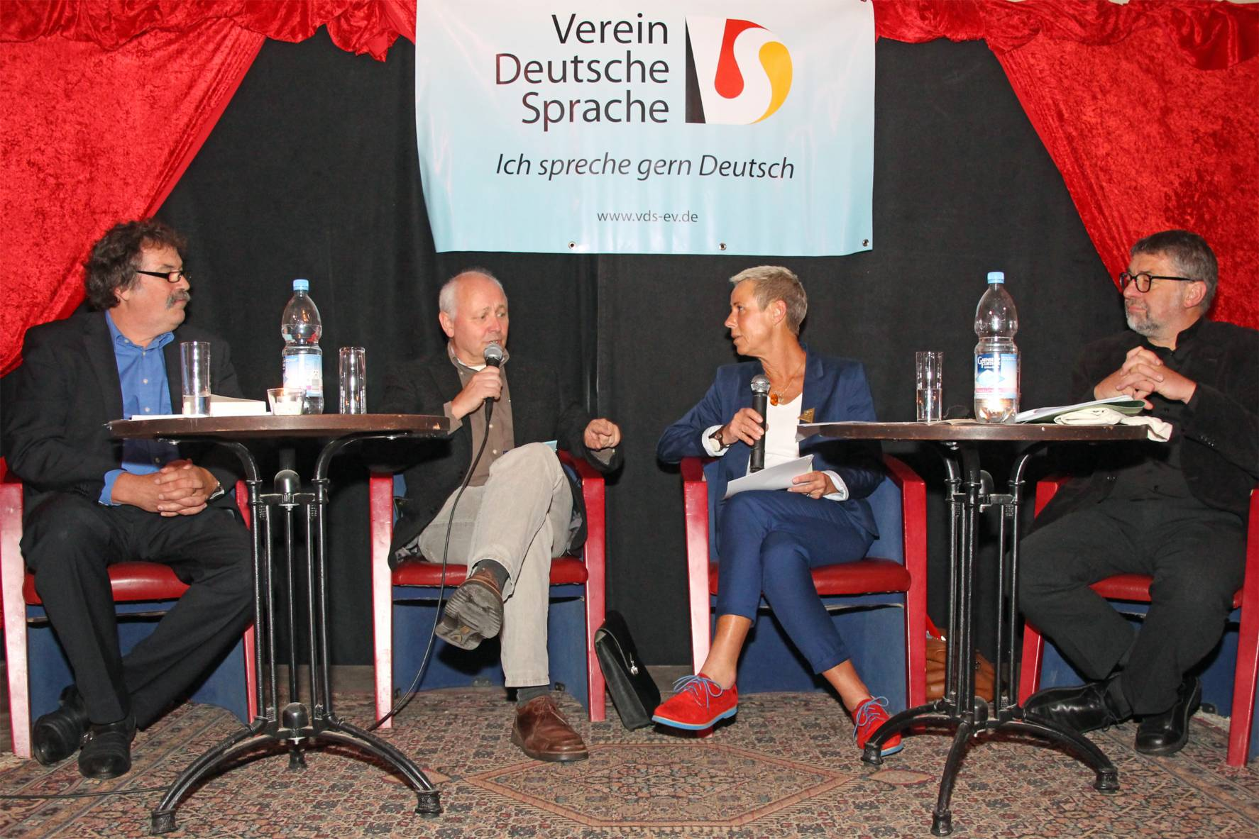 Podiumsdiskussion in Magdeburg
